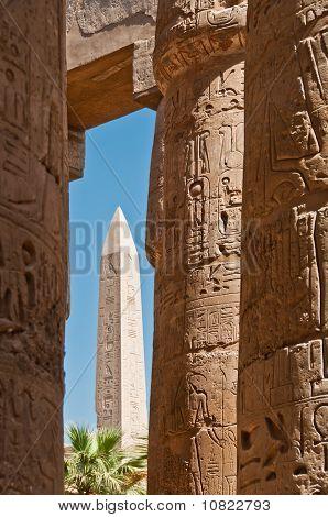 Obelisk In Karnak