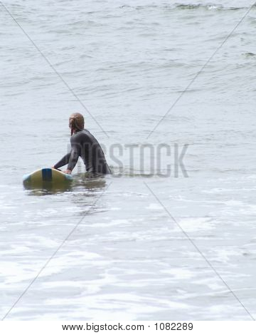 Girl Surfer