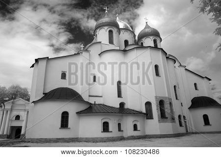 Church In The Kremlin (detinets-stronghold). Great (veliky) Novgorod