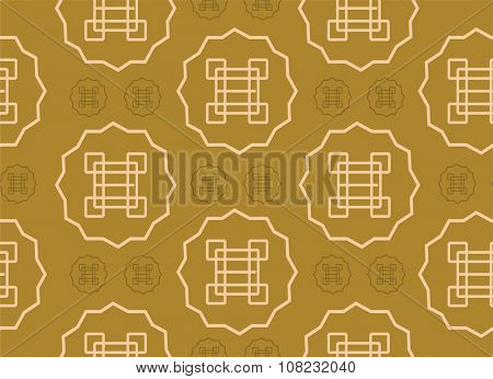 Abstract chinese or asia seamless pattern background vector design. Asian pattern background. Seamless pattern background. Asia, India, China pattern background vector