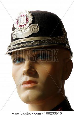Police helmet Czechoslovak