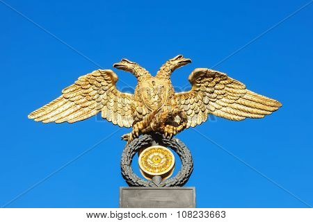 Eagle On The Grille Of The Russian Museum, Saint Petersburg