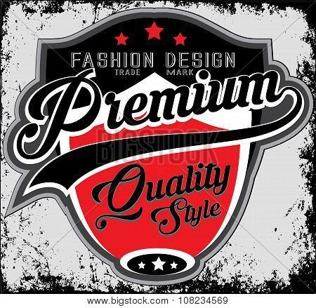 Fashion Design Company Typography, T-shirt Graphics, Vectors