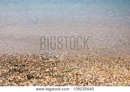 Sea and pebbles