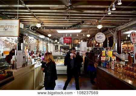 gansevoort food market Manhattan