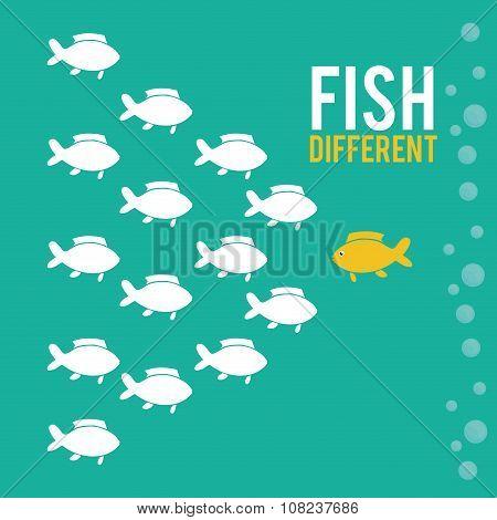 Fish figure design