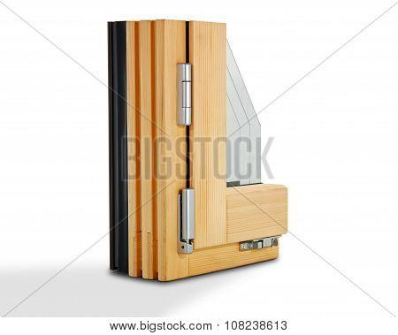 wooden window profile