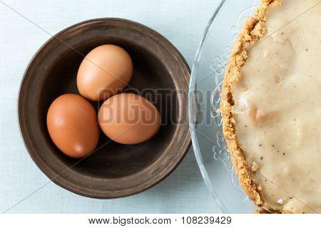 Custard Cream Pie