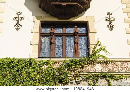 Architecture detail in Transylvania