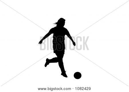 Soccer Silhouette