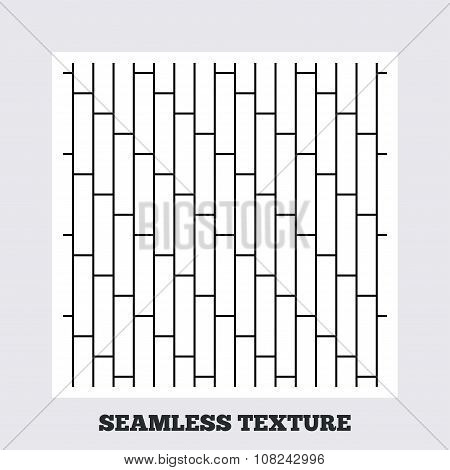 Cobbles grid stripped seamless pattern.