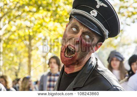 Zombie In Lucca Fair