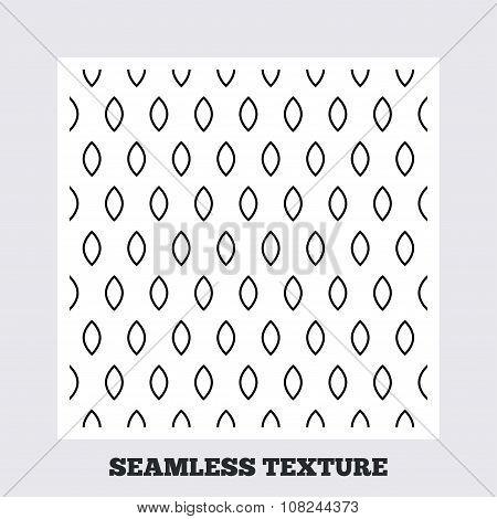 Ellipse geometric seamless pattern.