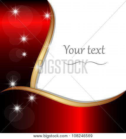 Elegant background frame