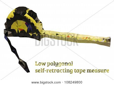 Low Polygonal Self-retracting Tape Measure