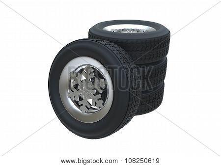 Snowflake Winter Tyre