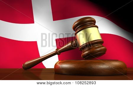 Denmark Law Legal System Concept