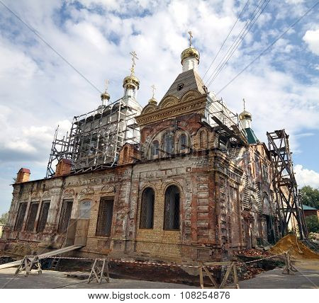Restoration Of The Holy Trinity Cathedral Holy Trinity Convent In Penza