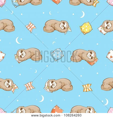 Pattern With Sloth.