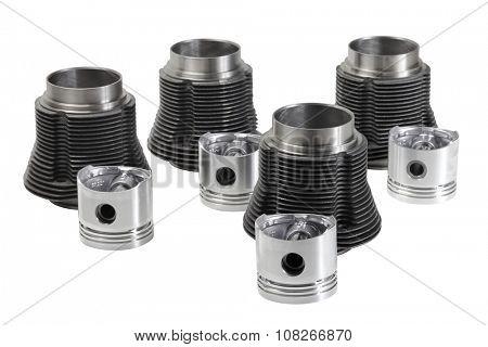 Car air cooled engine