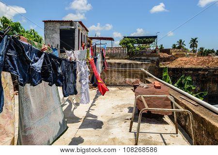 Clothes Hanging Cuba