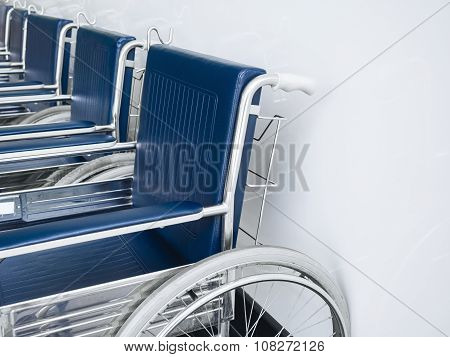 Wheelchair Accessibility Service In Hospital Medical Object