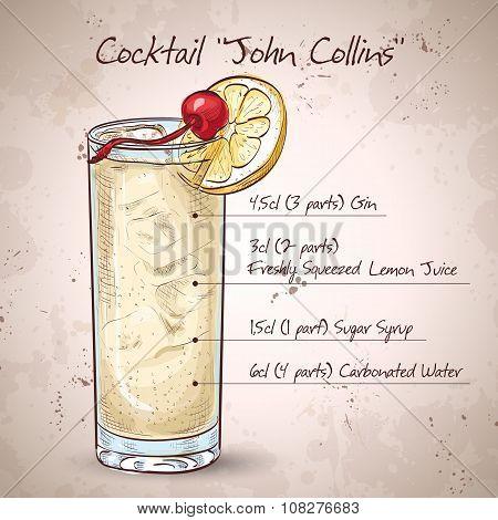 Cocktail John Collins