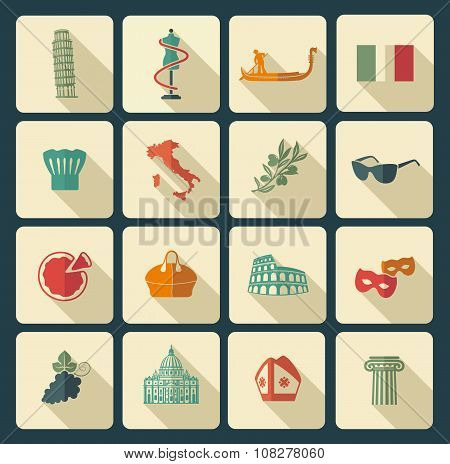 Traditional symbols of Italy