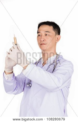 Injection Of Doctor