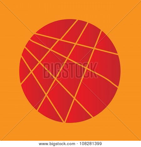 Sliced Red Circle