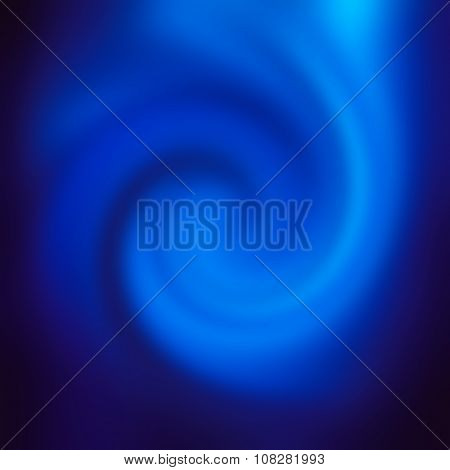 Blue Smooth Twist Light Lines Background.