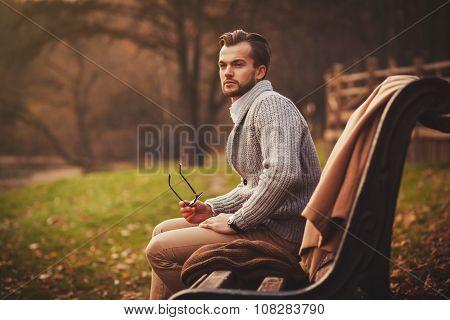 Fashionable Portrait Of A Man