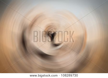 Abstract Background Of Spin Radial Blur