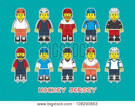 Hockey Jersey Constructor Style