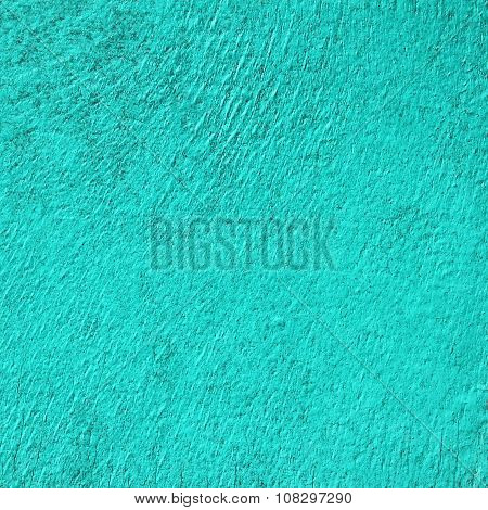 Board Painted In Turquoise