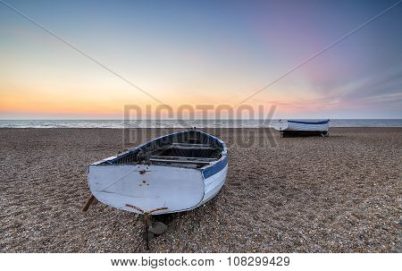Boats At Aldeburgh