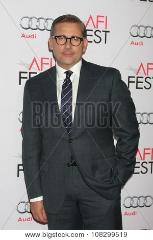 LOS ANGELES - NOV 12:  Steve Carell at the AFI Fest 2015 - Presented by Audi - The Big Short Gala Screening at the TCL Chinese Theater on November 12, 2015 in Los Angeles, CA