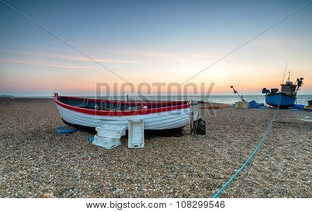 Fishing Boats On The Suffolk Coast