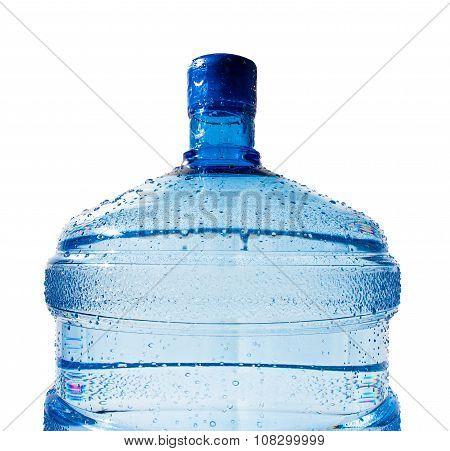 Big Bottle Of Water Isolated