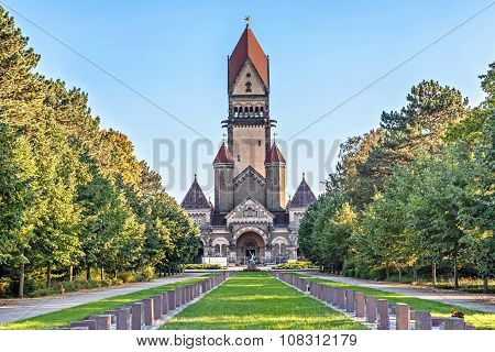 Chapel Complex In South Cemetery, Leipzig