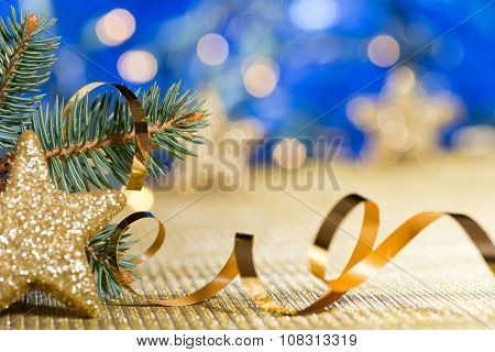 Christmas Decoration With Needles