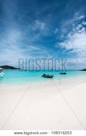 White Sand Beach At Koh Miang  ,similan Islands