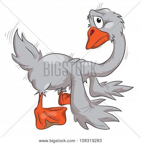 Sad Goose