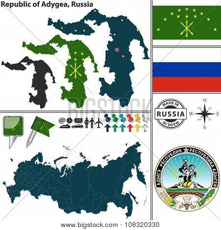 Republic Of Adygea, Russia