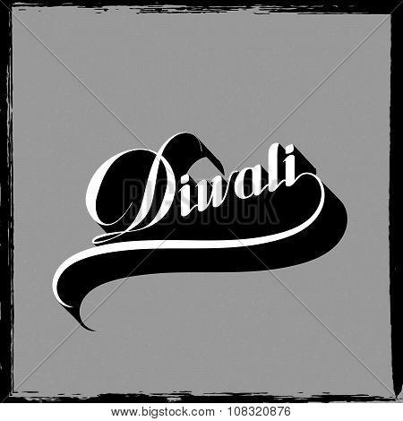 Diwali vector illustration.