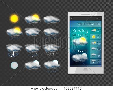 New weather icons set