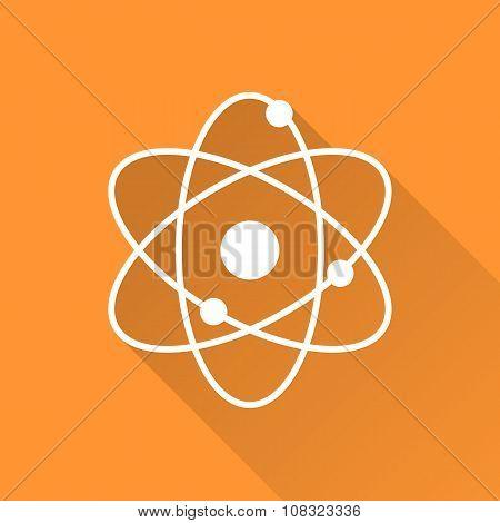Atomic model icon