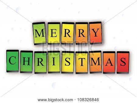 Mobile Christmas message