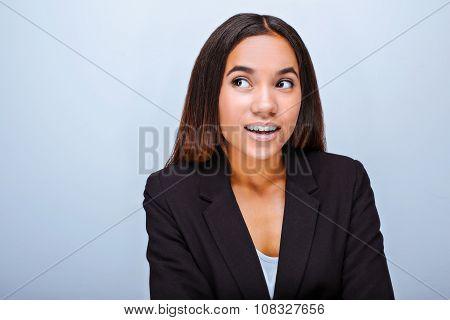 Concept for multi ethnic businesswoman