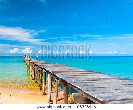 Sunny Serenity Contemplating the Sea